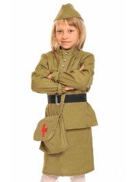 Костюм солдатка Медсестра 5103