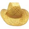 Шляпа ковбойская соломенная
