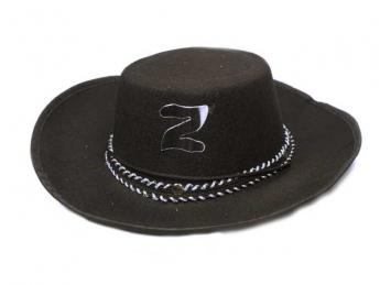 Шляпа Зорро из фетра