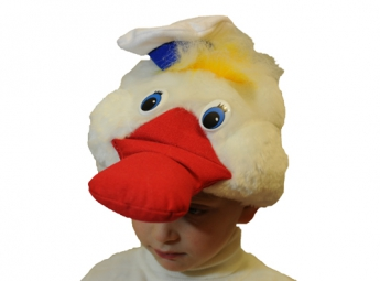 Карнавальная шапочка Утенок Бо1149