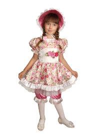 Костюм Кукла в шляпке А092