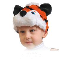 Карнавальная шапочка Тигренок 4028