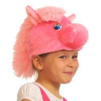 Карнавальная шапочка Лошадка Роза 4015