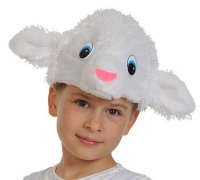 Карнавальная шапочка Овечка 4050