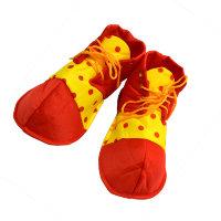 Ботинки клоуна взрослые 6170, горох