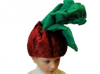 Карнавальная шапочка Свекла С2068