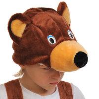 Карнавальная шапочка Мишка 4006