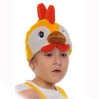 Карнавальная шапочка Петушок 4055