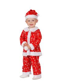 Костюм Малыш Санта, красный