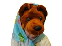 Карнавальная шапочка Медведица С2061