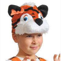 Карнавальная шапочка Тигрица 4036