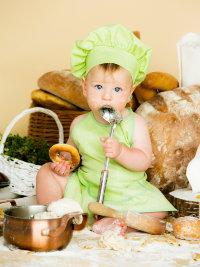 Костюм Поваренок для малышей Ве9070, салатовый