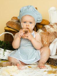 Костюм Поваренок для малышей Ве9073, серый
