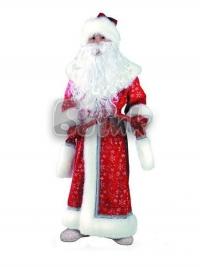 Костюм детский Дед Мороз плюш Б-178