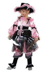 Костюм Пиратка розовая Б-456