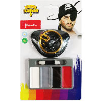 Грим аква Пират с серьгой