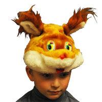 Карнавальная шапочка Белка С2032