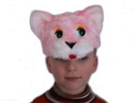 Карнавальная шапочка Кошечка С2010