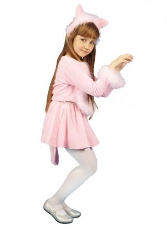 Костюм Кошечка розовая Ве3051