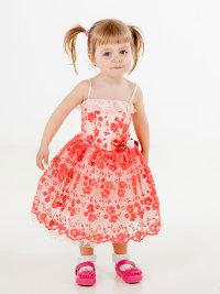 Нарядное платье для девочки Анфиска